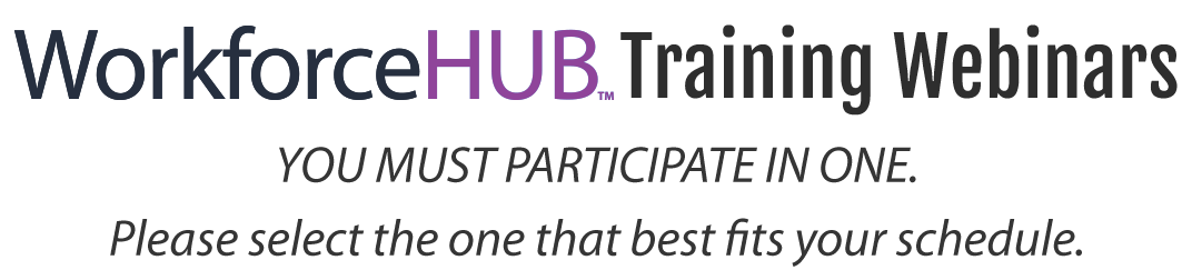 WorkforceHUB_Training_Webinars_Header